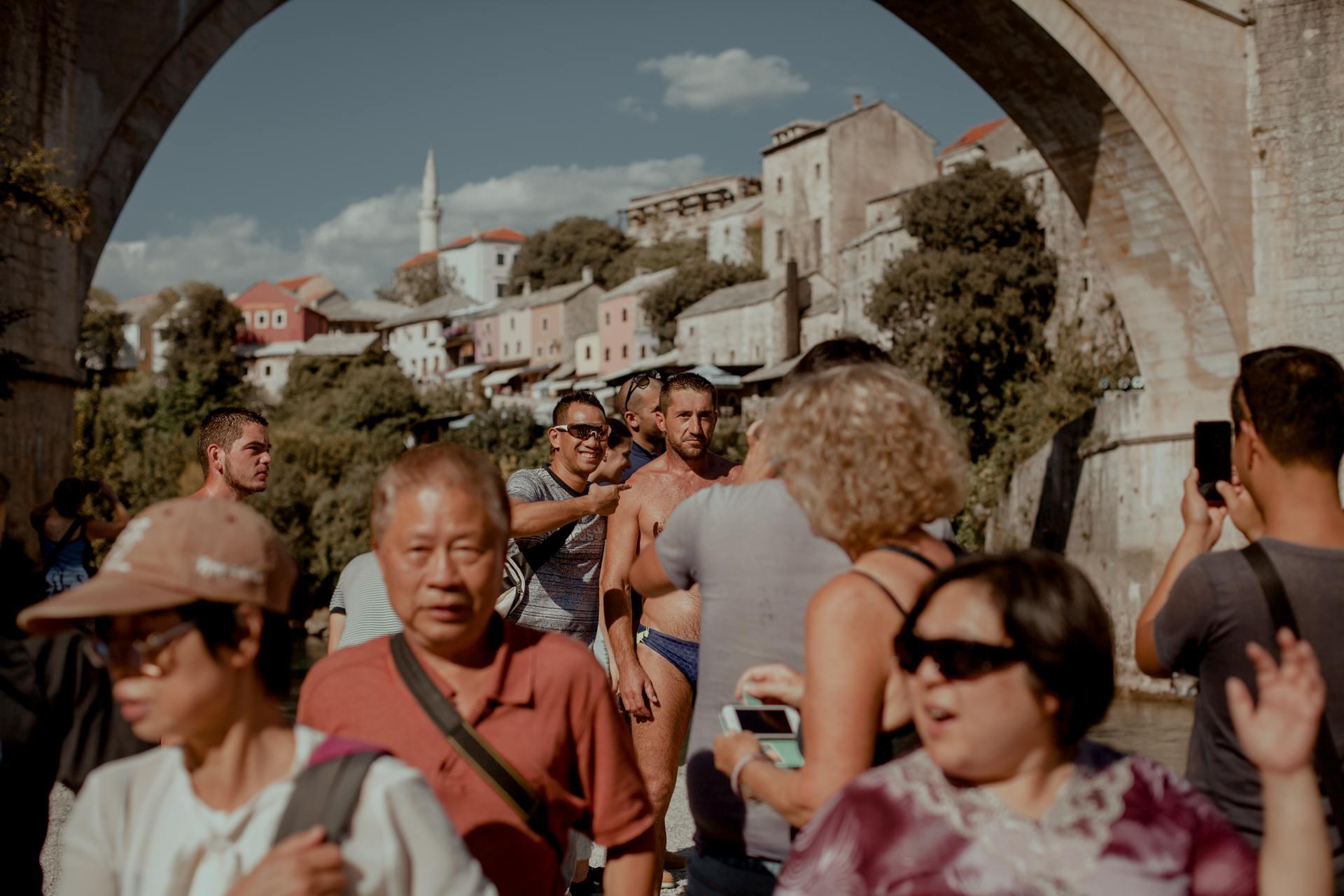 Mostar - Bośnia. Codzienne życie