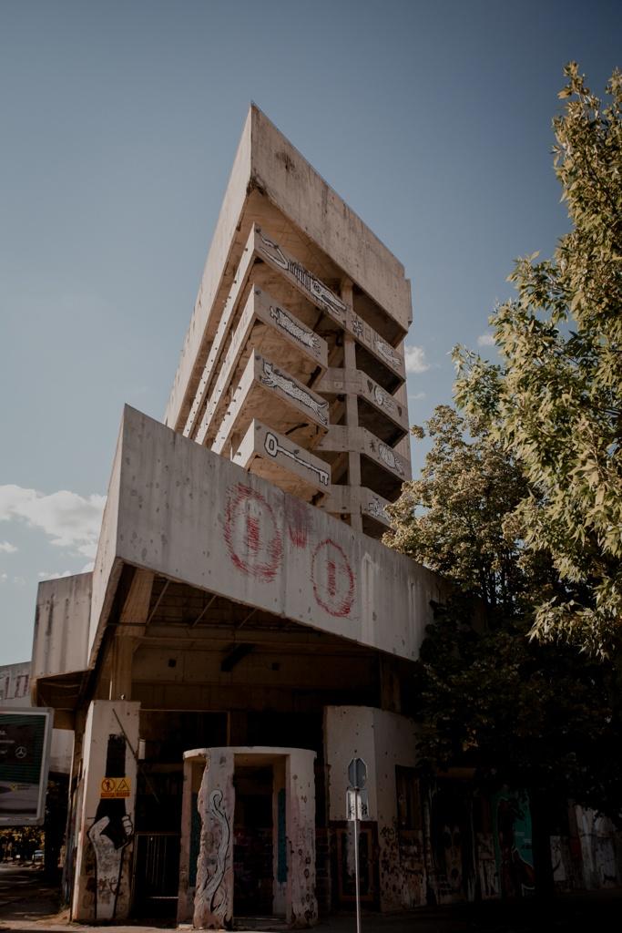 Mostar - wieża snajperów