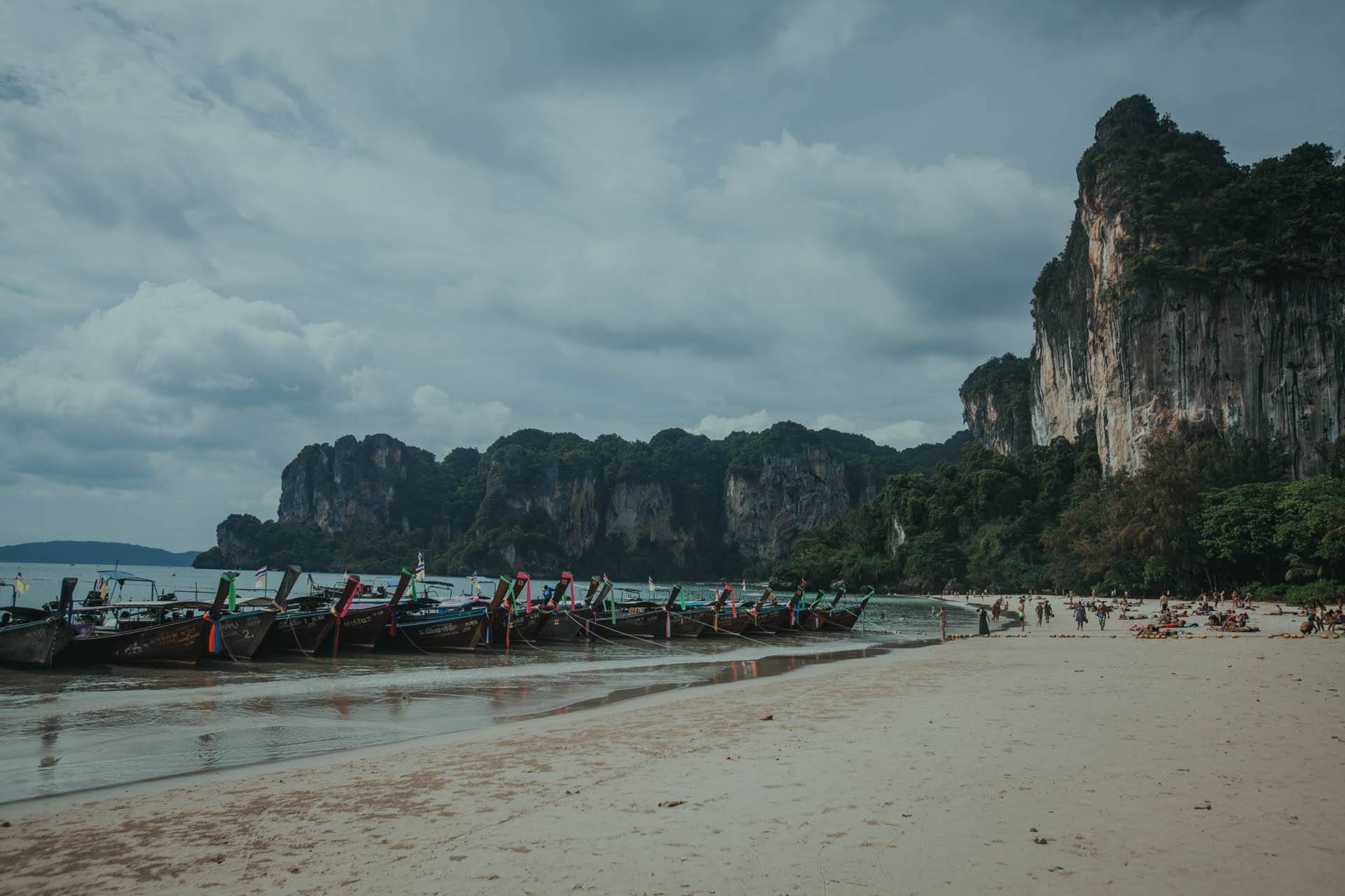 Railay Beach na Krabi