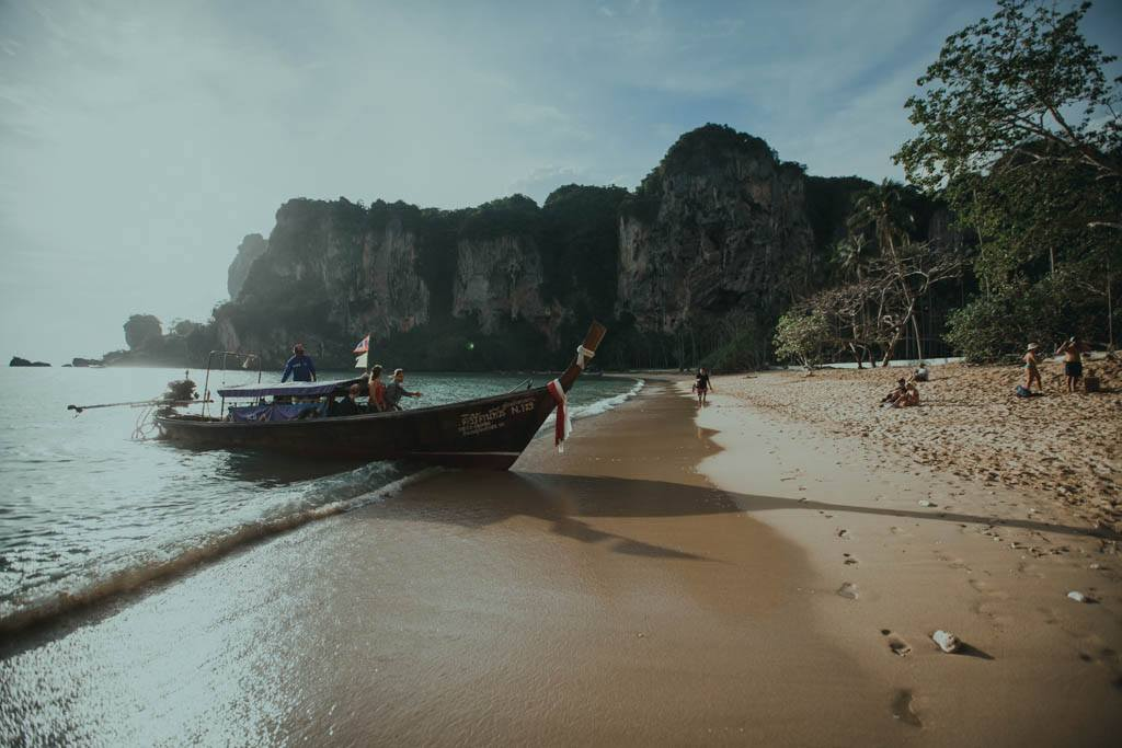 Railay Beach Tonsai Krabi Tajlandia