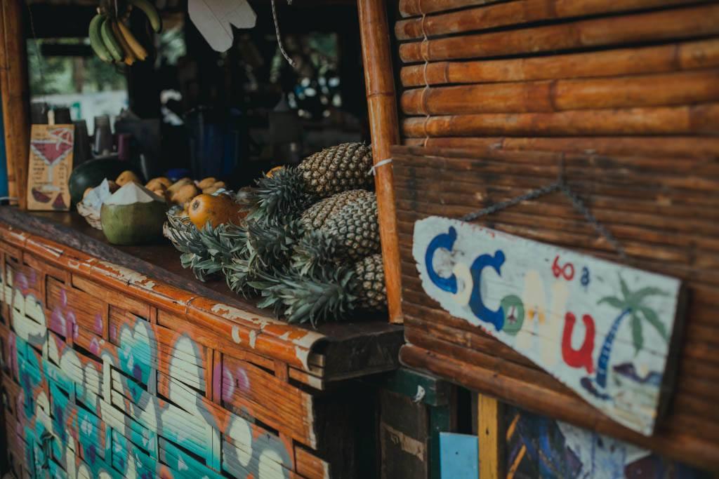 Tonsai, Railay - jedzenie, zakupy