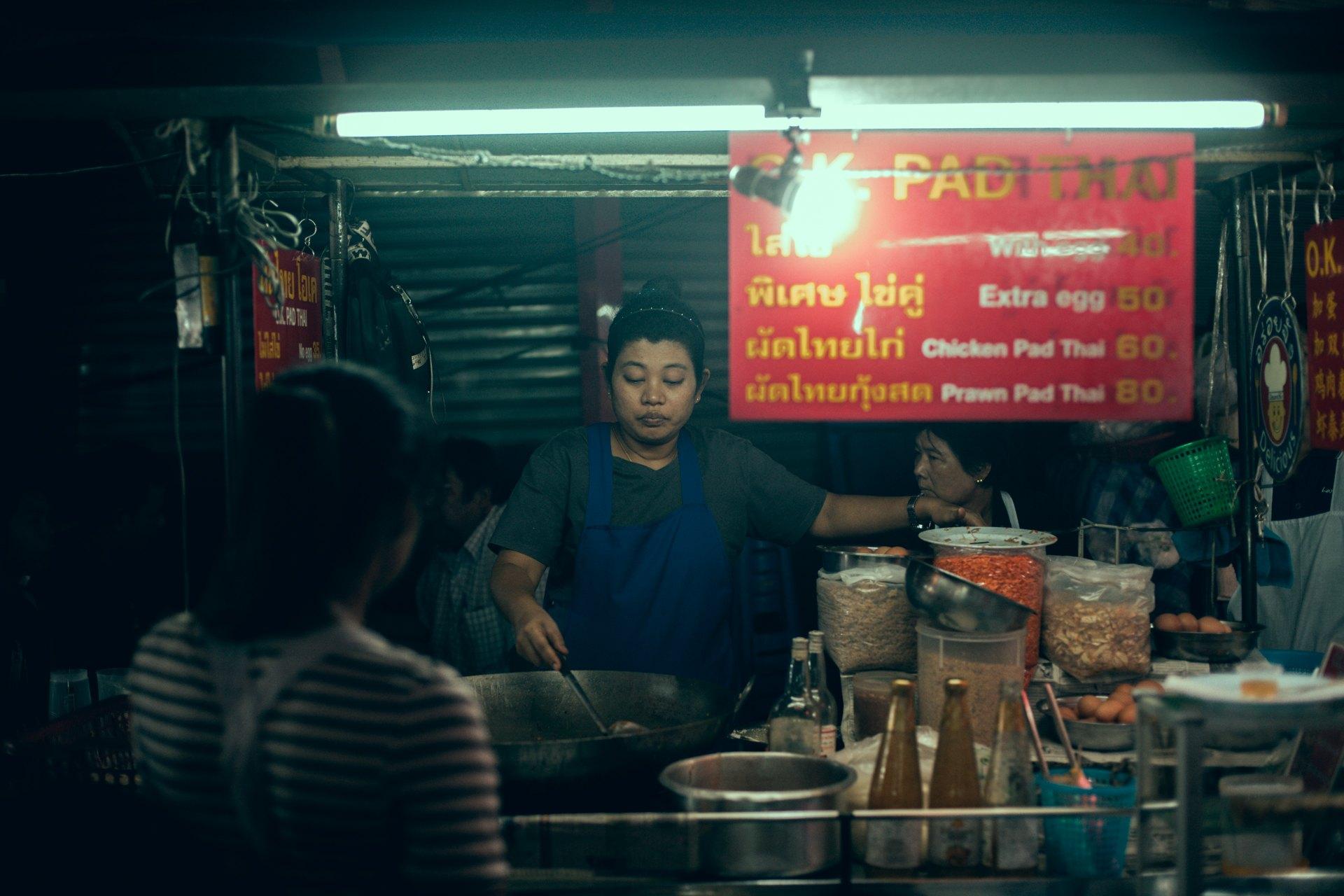 Tajlandia - Street food w Tajlandii