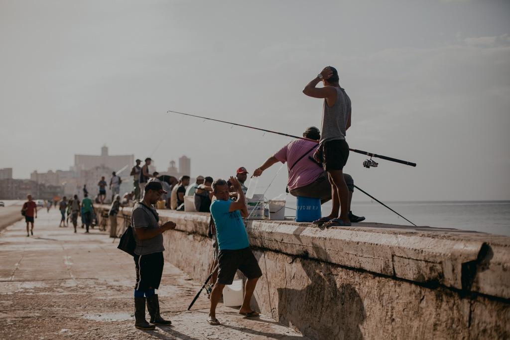 Hawana, Malecon, Kuba