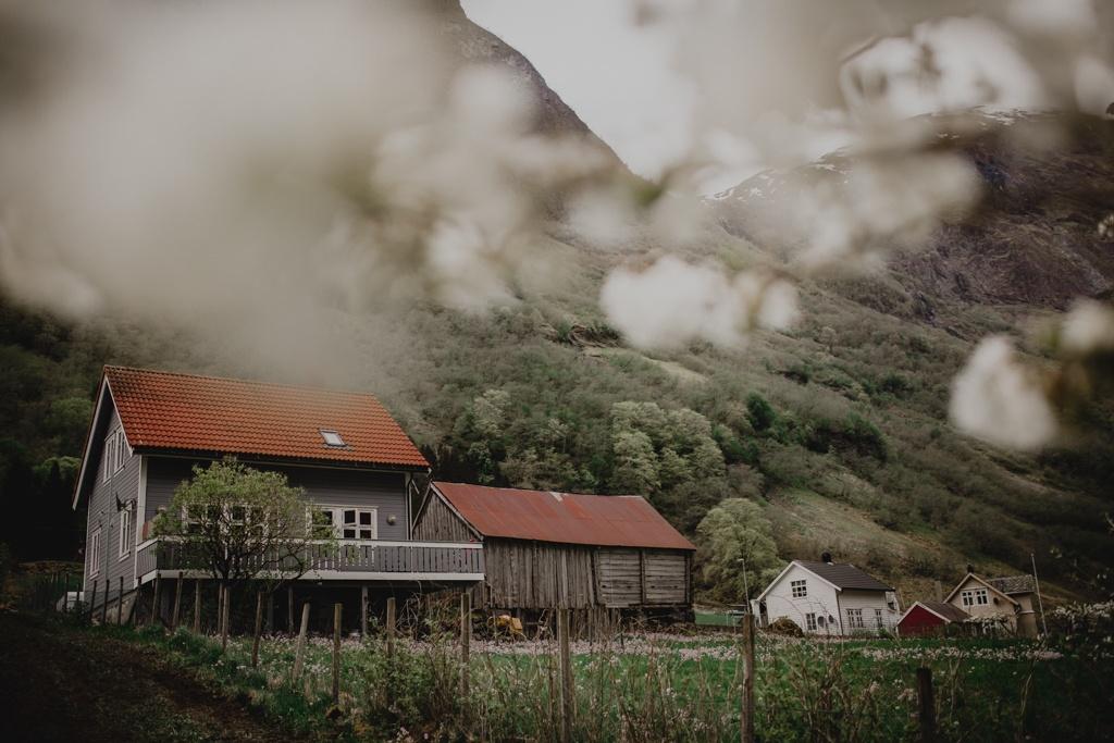 Sognefjord, Norwegia, Gudvangen, Naroyfjord