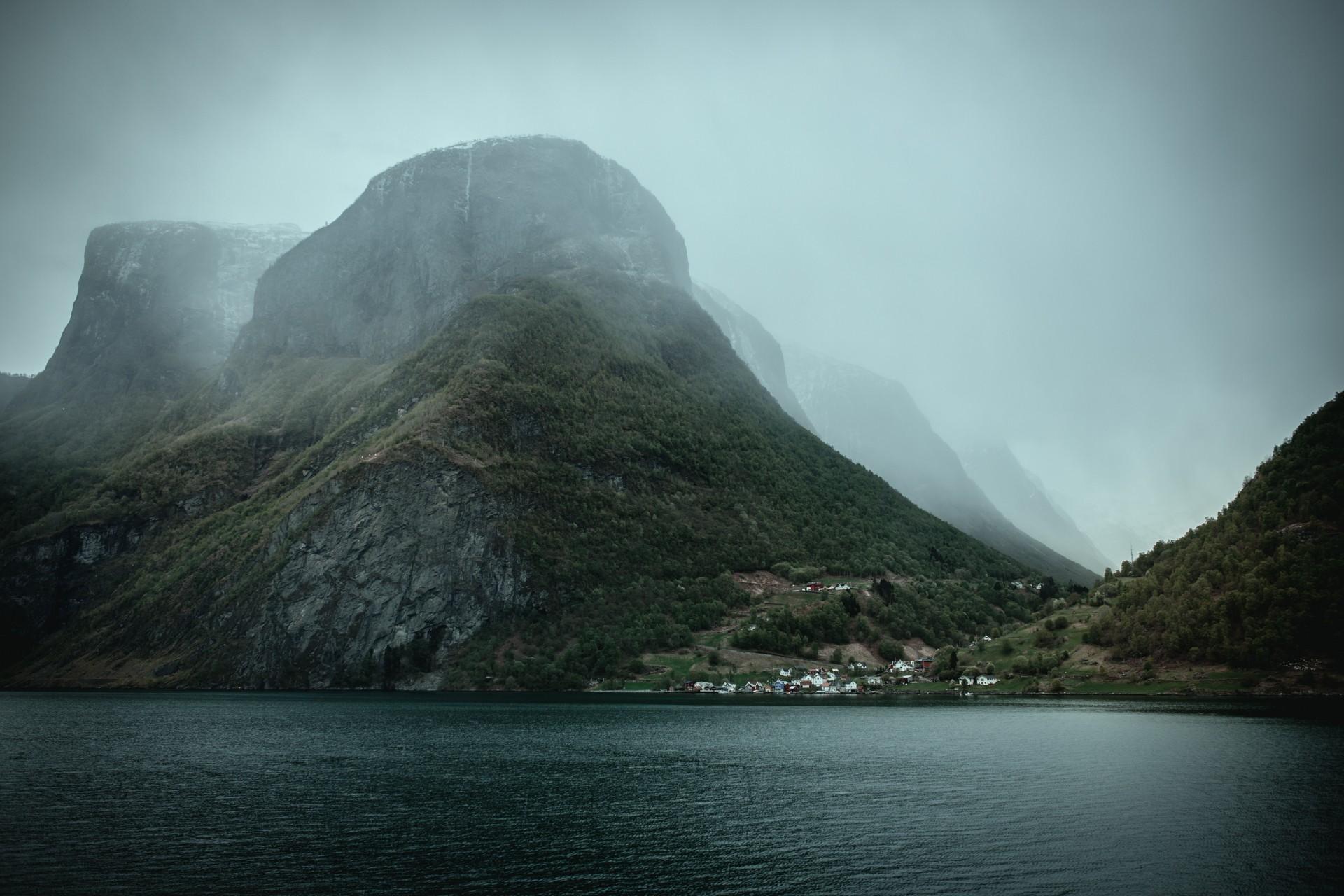 Bakka, Norwegia, Gudvangen, Naroyfjord