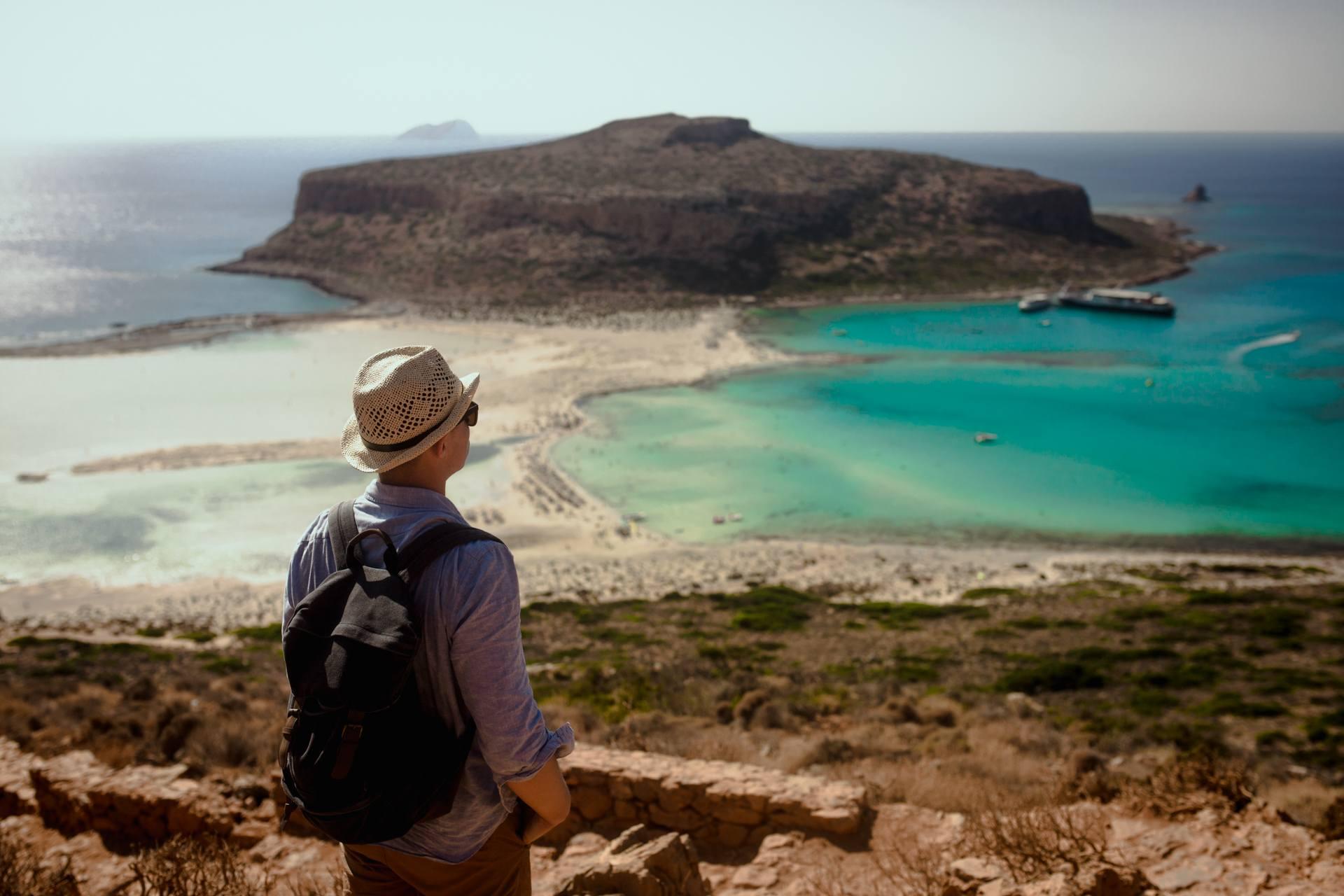 Kreta - piękna laguna Balos