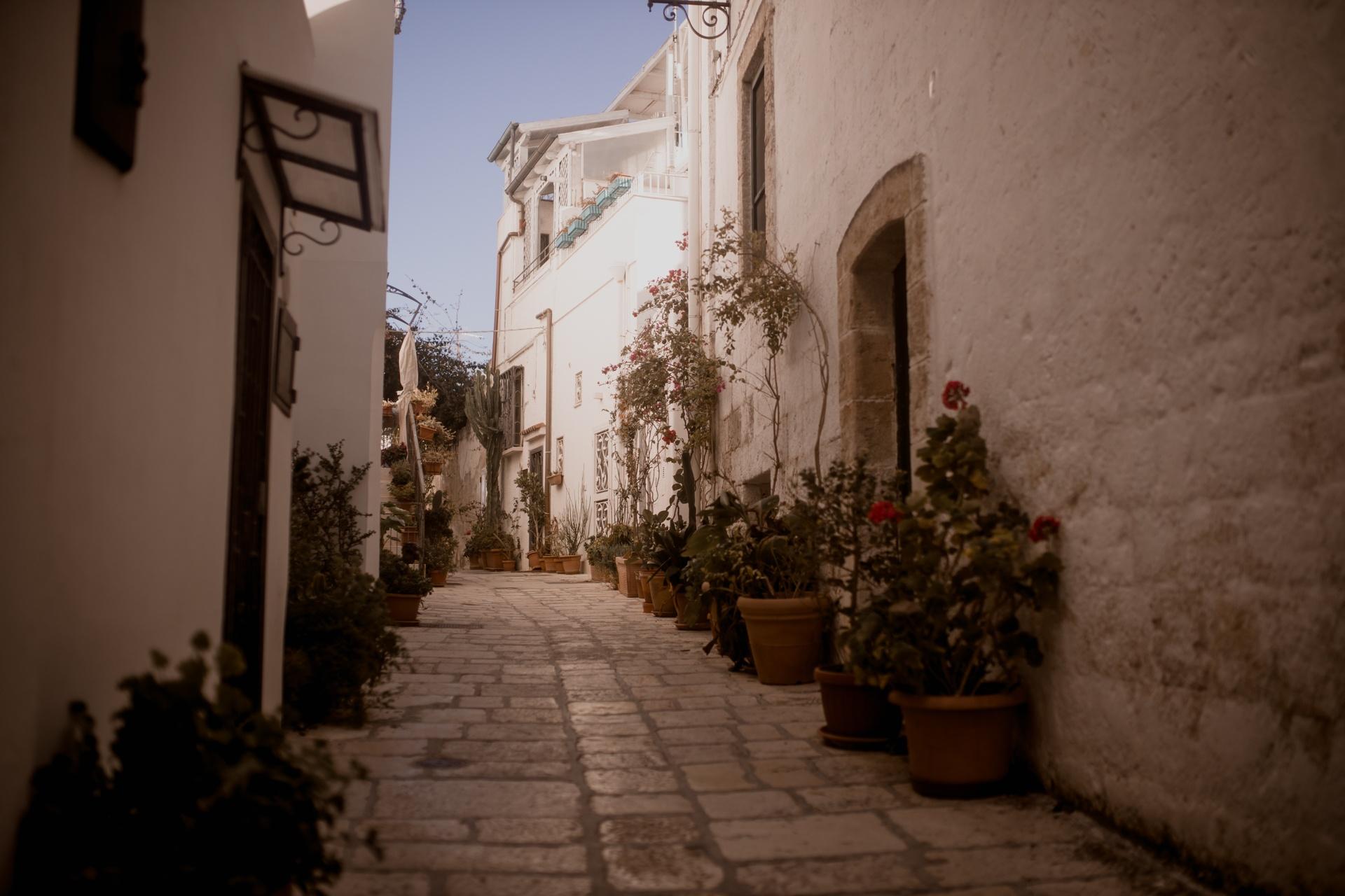 Apulia - miasteczko Polignano