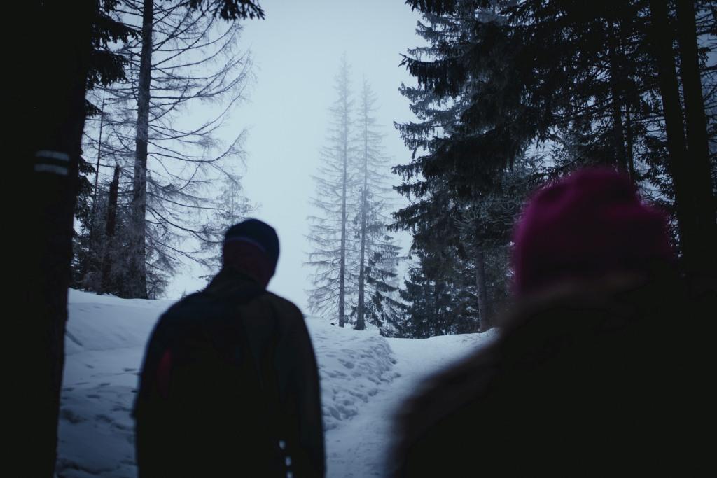 Rusinowa Polana - szlak, dojście