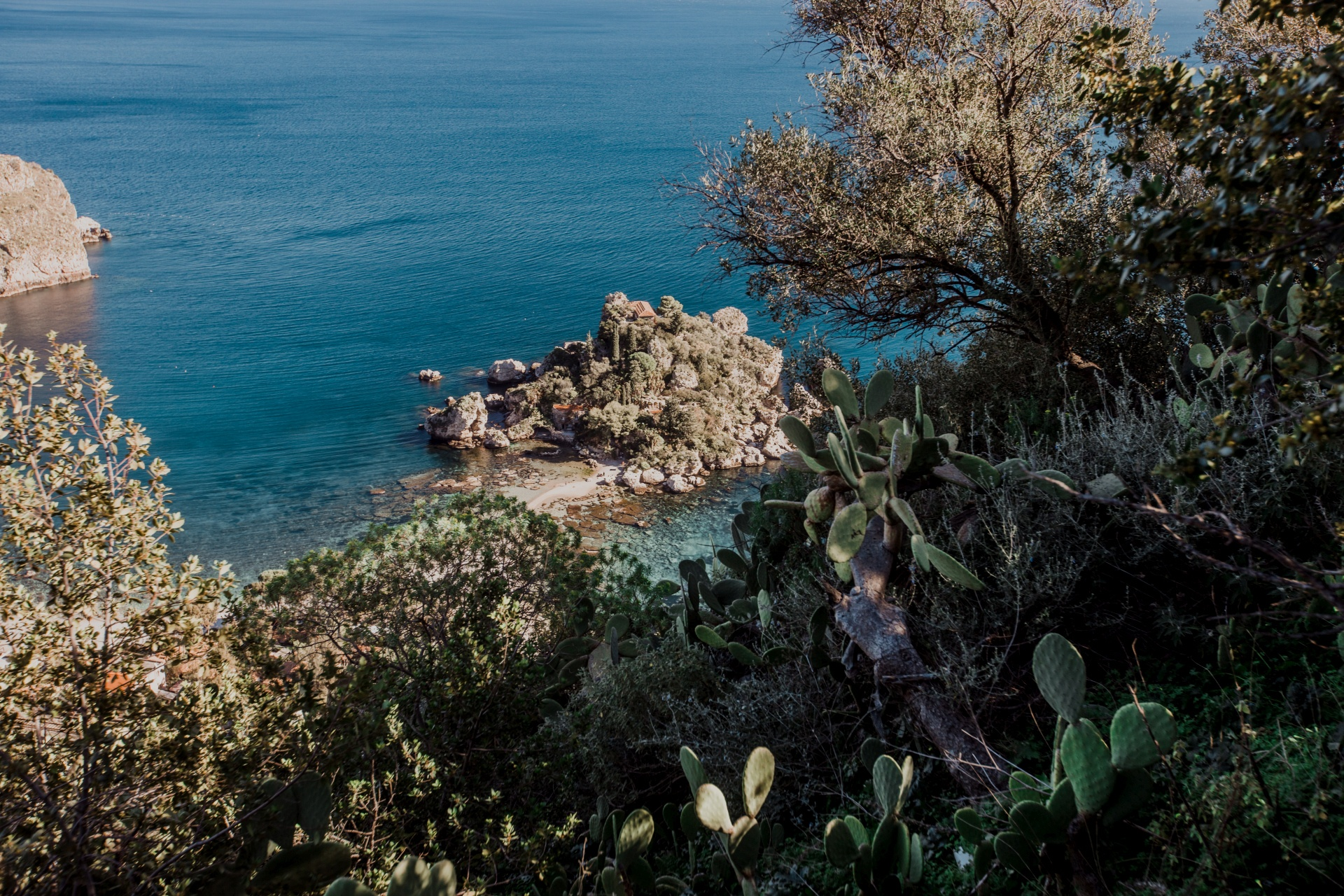 Miasteczko Taormina na Sycylii