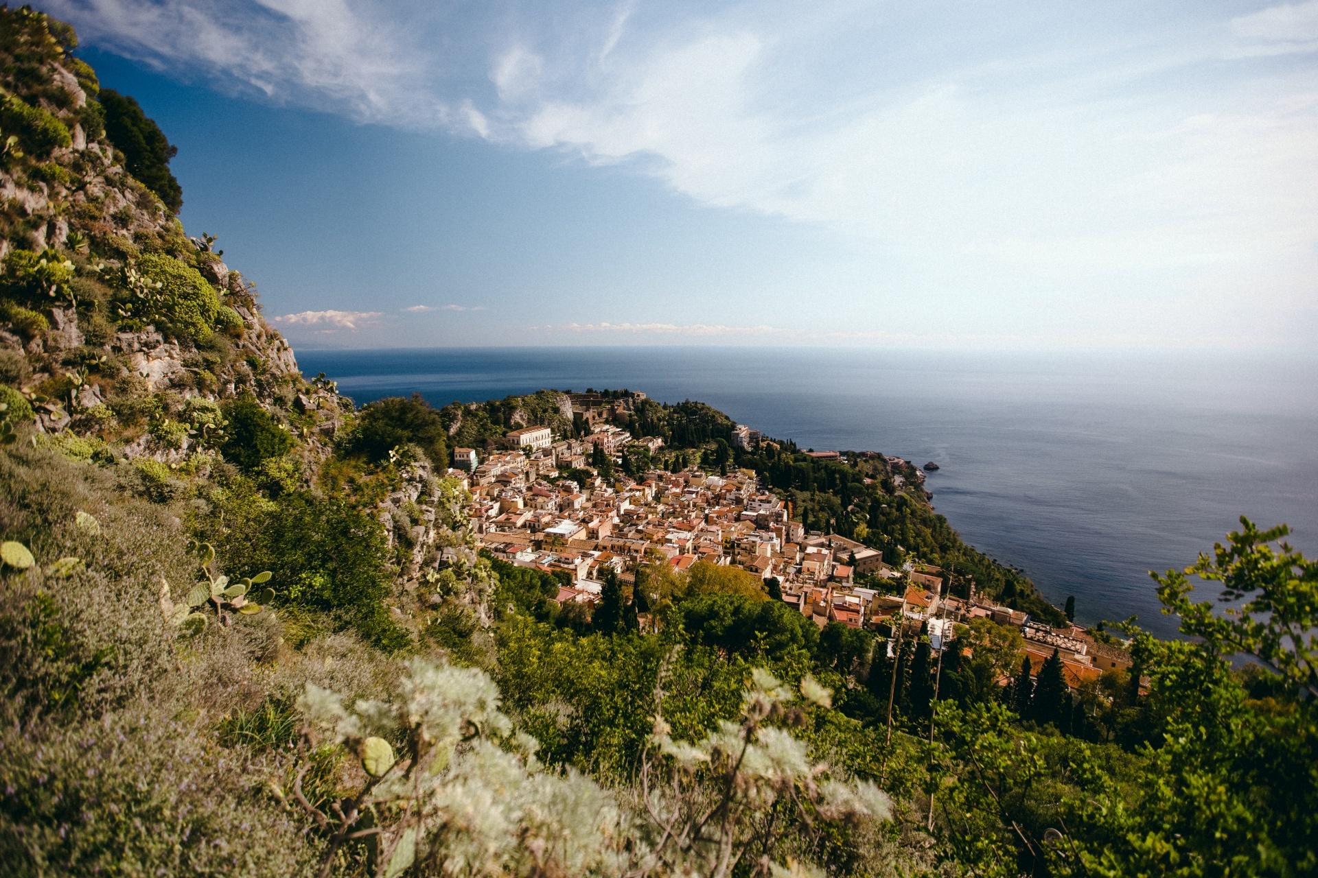 Taormina we Włoszech