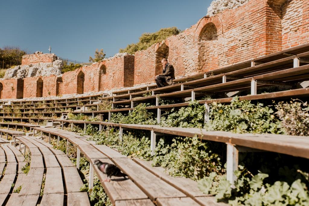 Taormina, Teatr Grecki, atrakcje