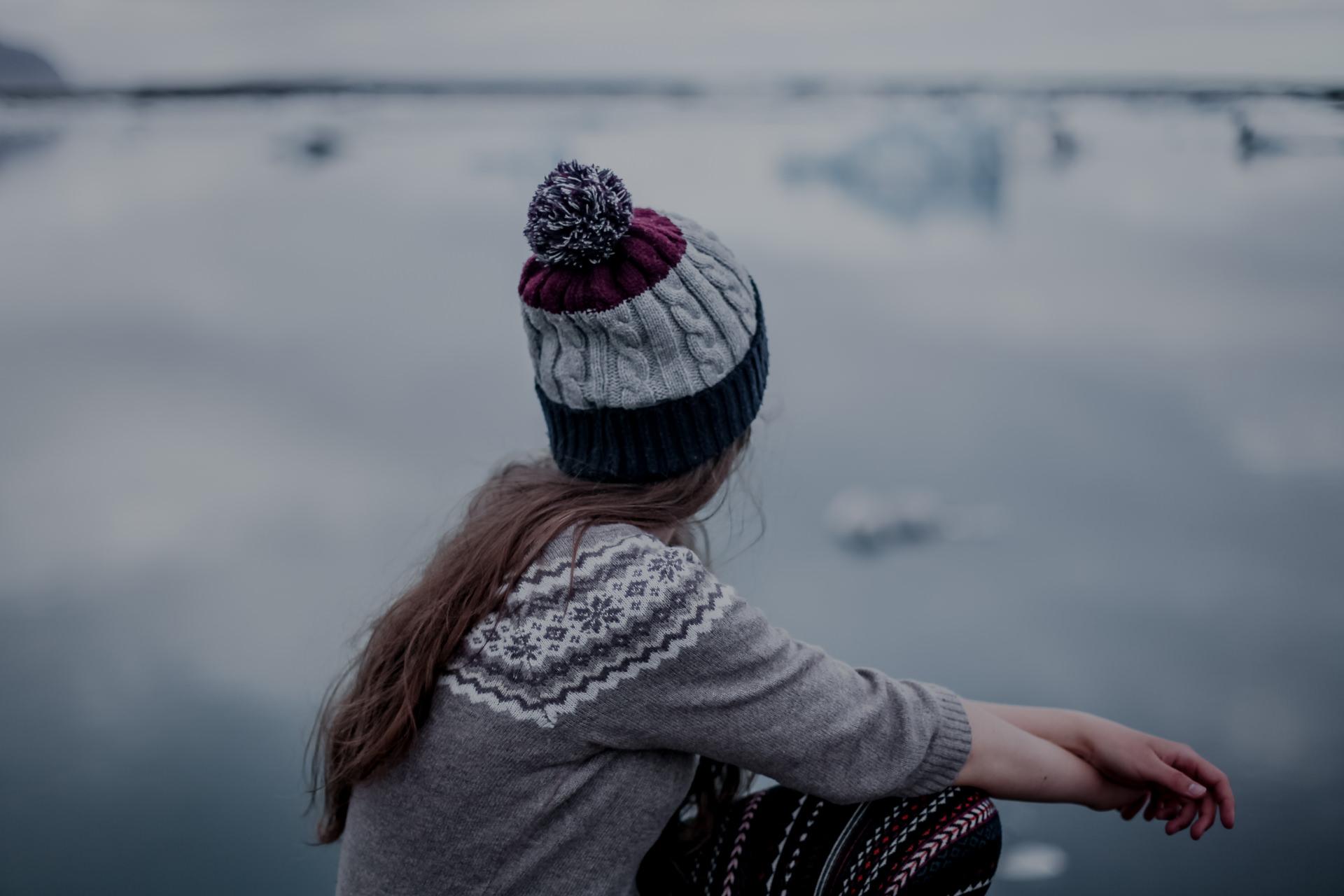 Islandia- jezioro lodowcowe