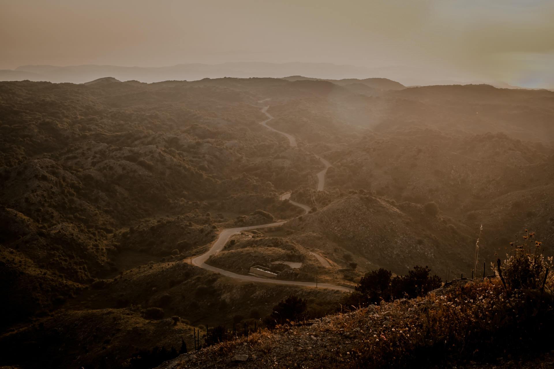 Góra Pantokrator. Najwyższy szczyt Korfu