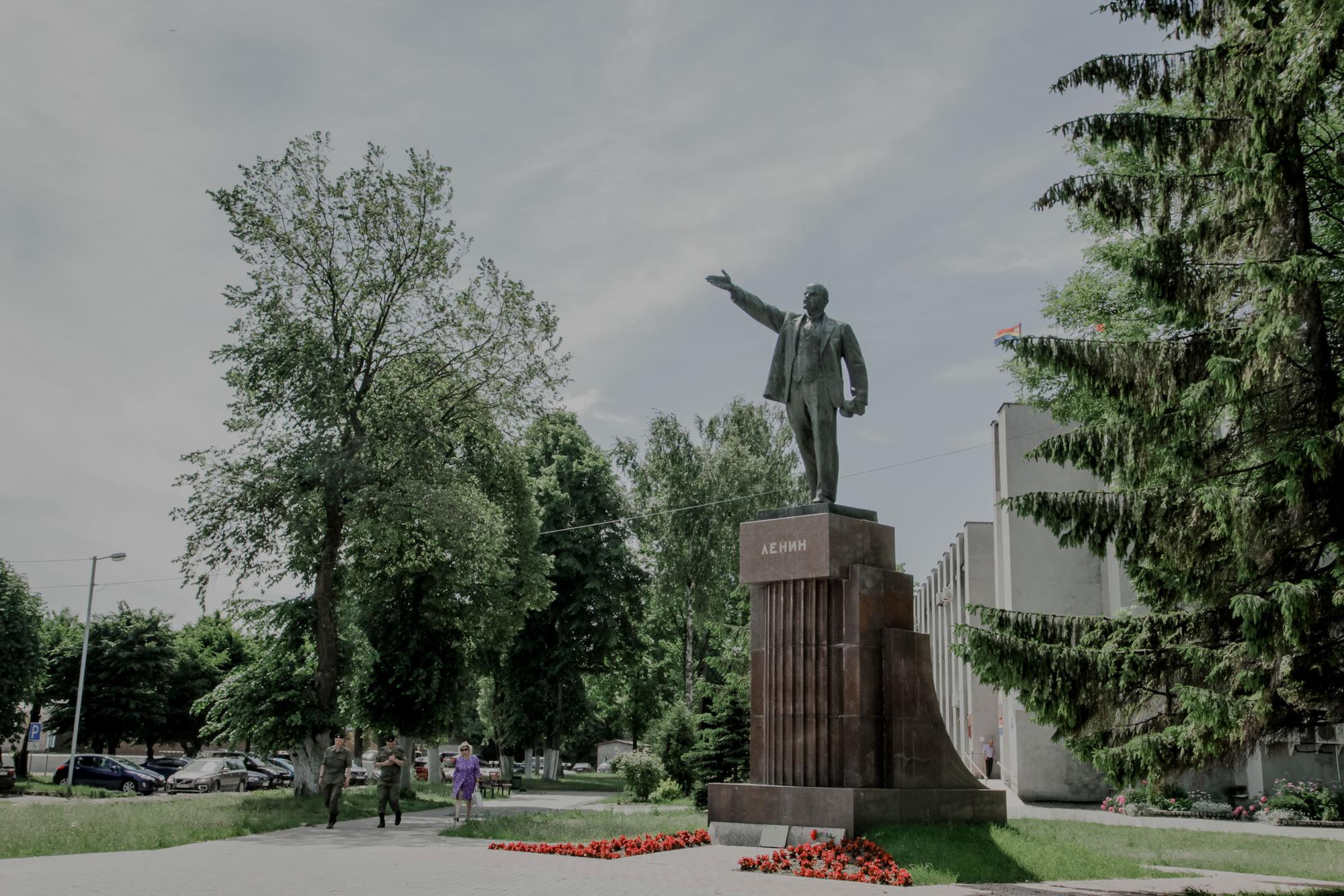 Pomnik Lenina w Bałtijsku