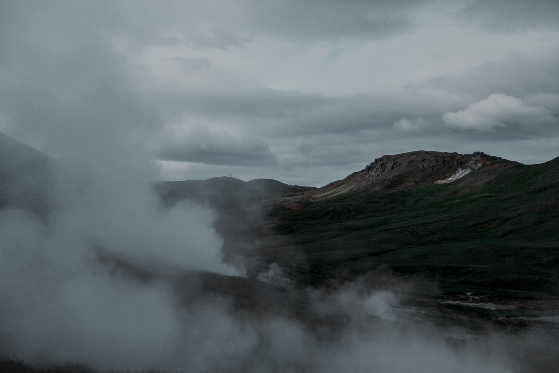 Atrakcje na Islandii - gorąca rzeka i baseny geotermalne