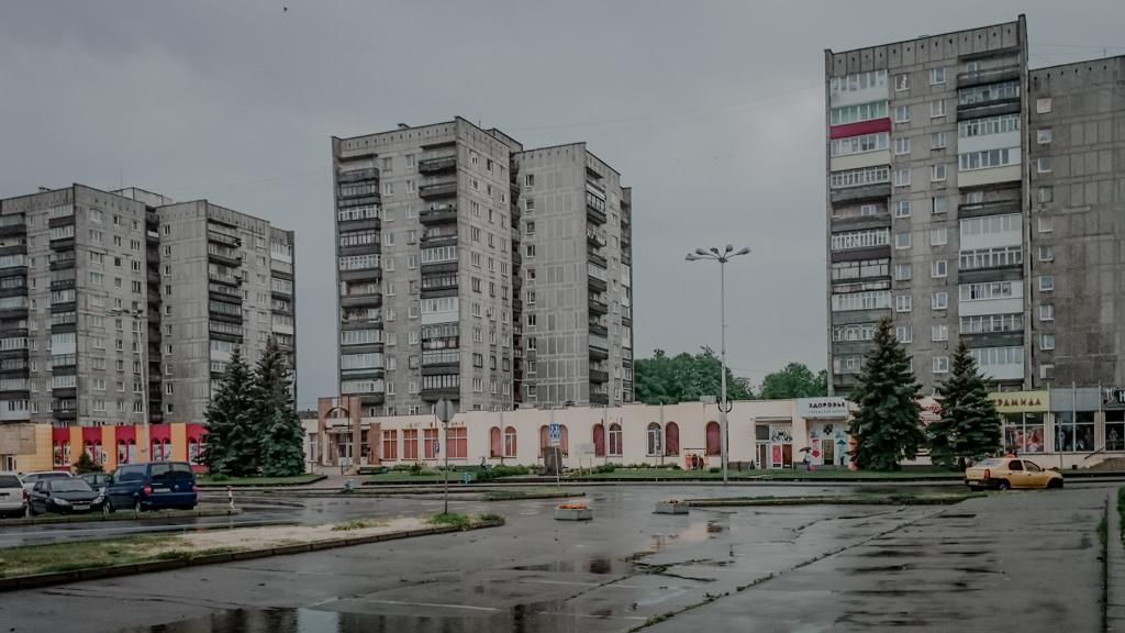 Blokowiska w Kaliningradzie