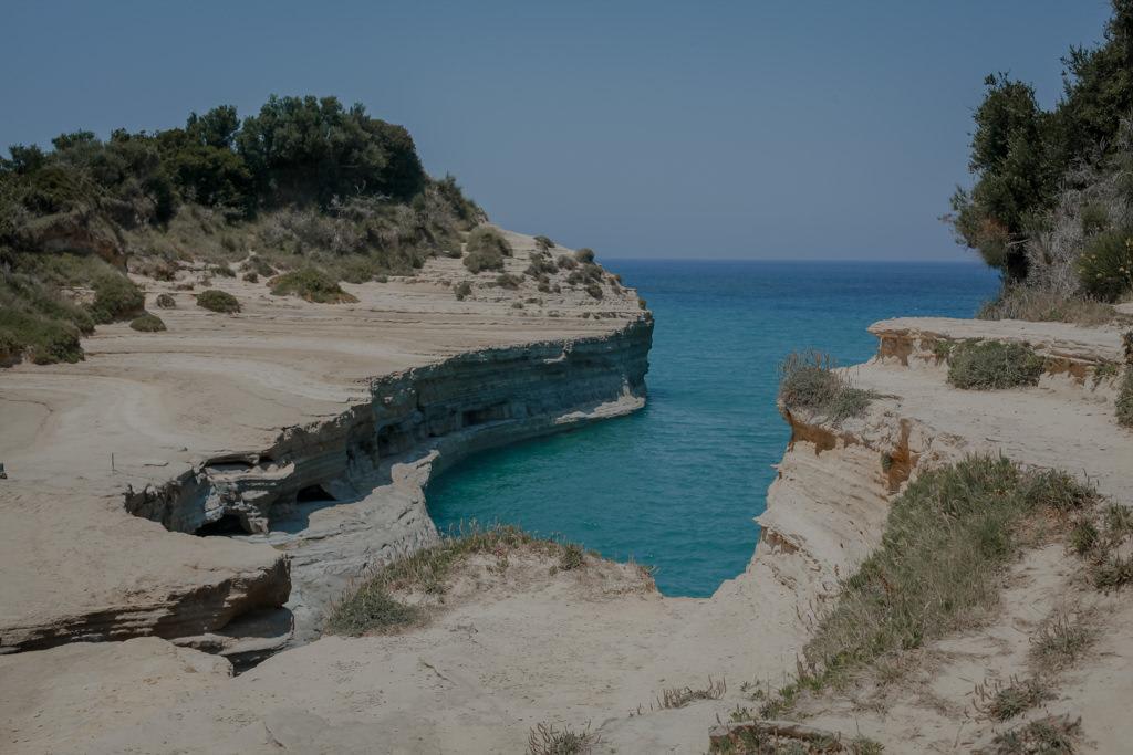 Kanał Miłości Korfu