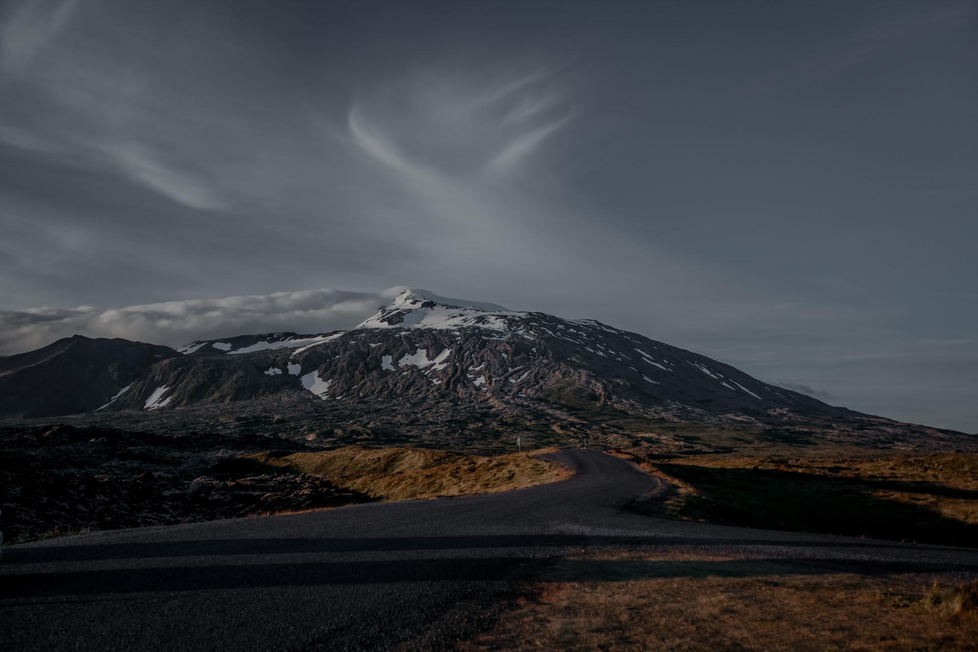Islandia - wulkan na Islandii