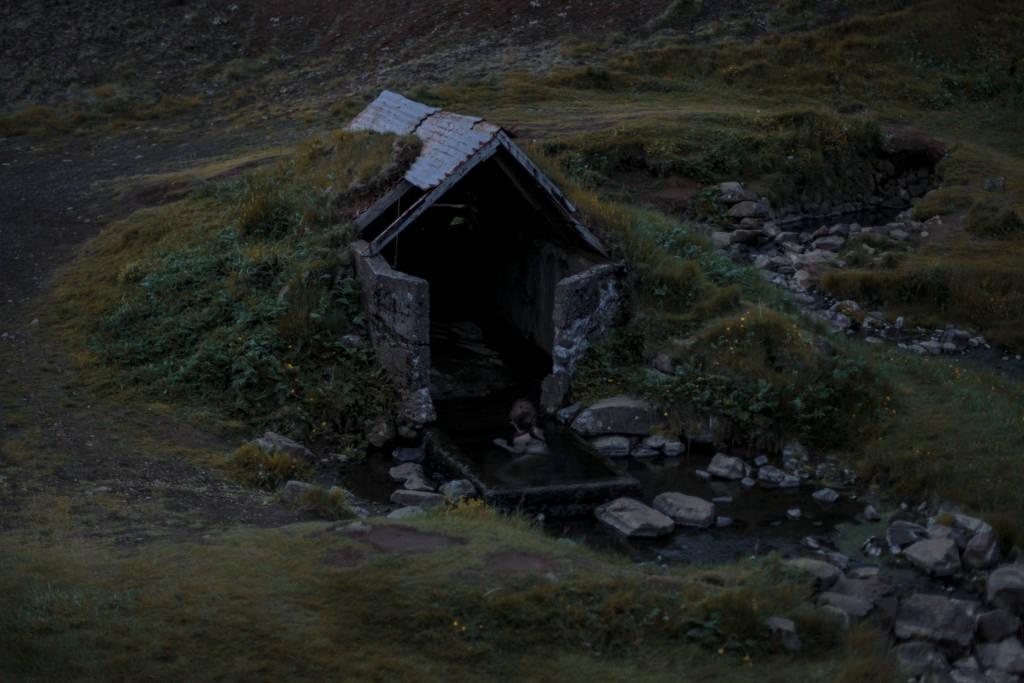 Islandia - gorące źródła, baseny