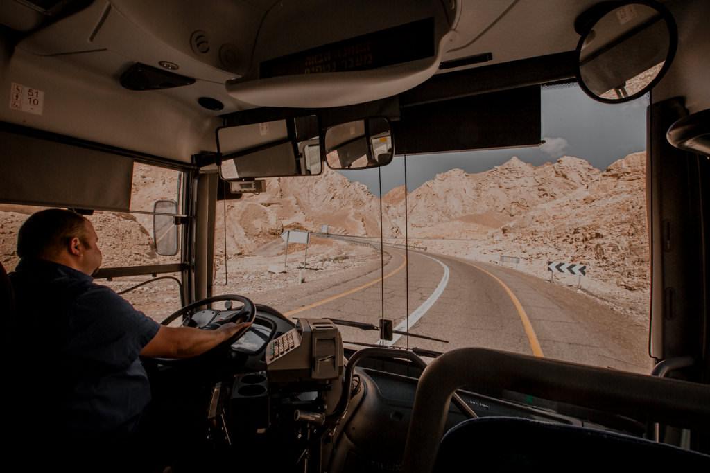Droga do Czerwonego Kanionu w Izraelu. Atrakcje Ejlatu