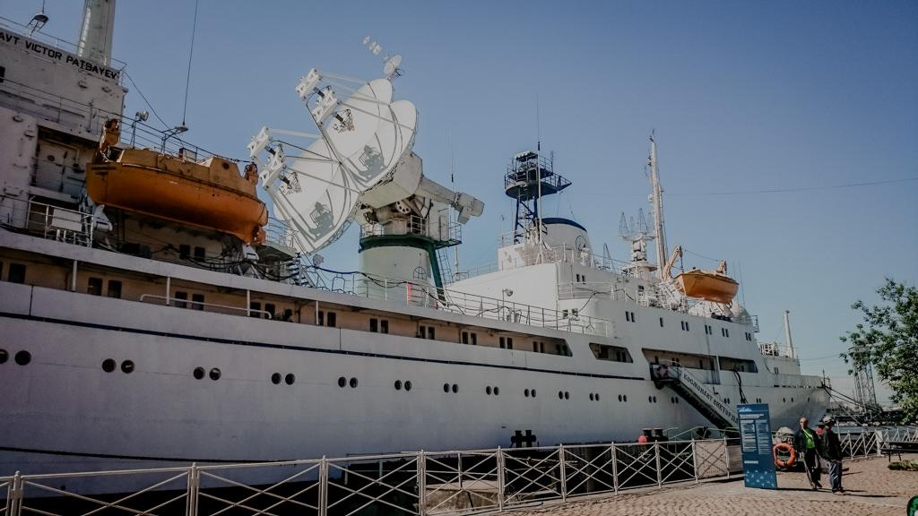 Okręt Kaliningrad w muzeum