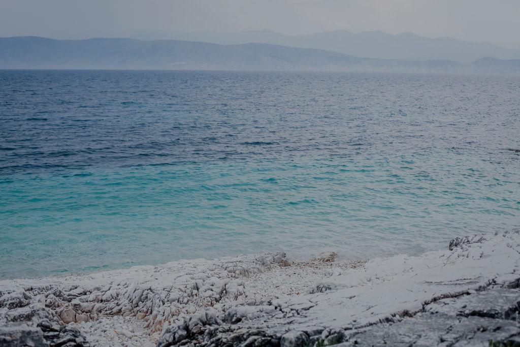 Korfu - morze, wybrzeże