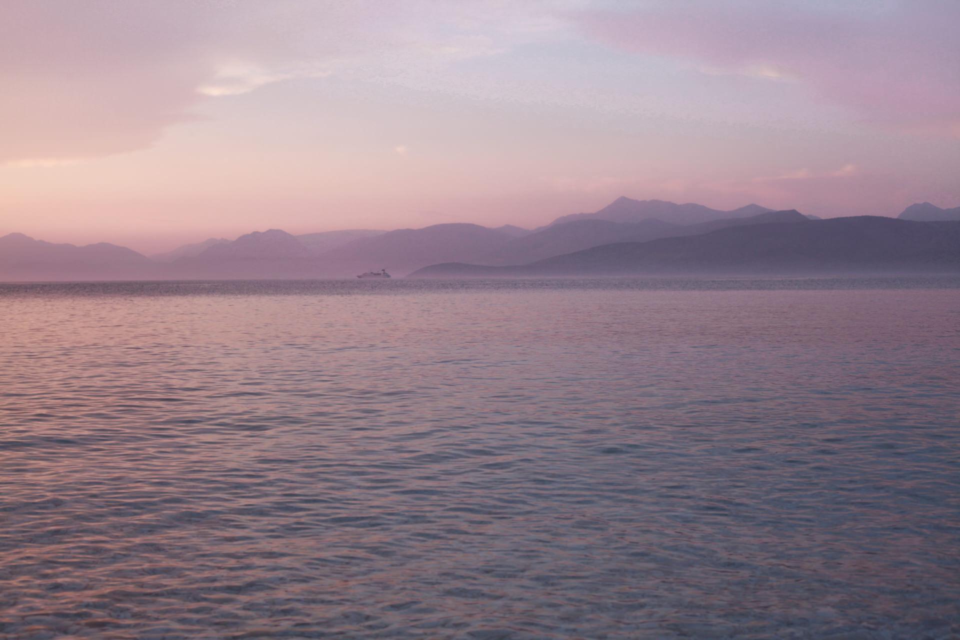 Korfu - plaża w Kassiopi