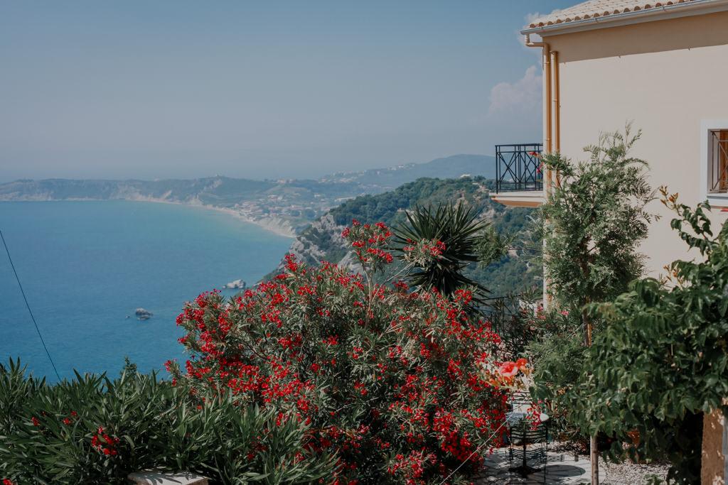 Plaże na Korfu Sidari