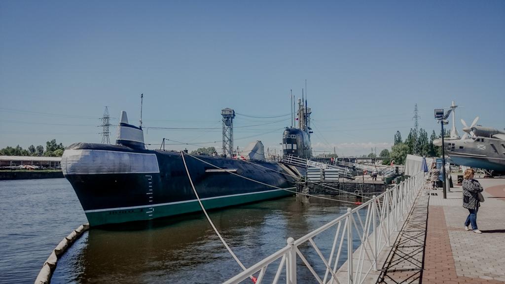 Łódź podwodna w Kaliningradzie