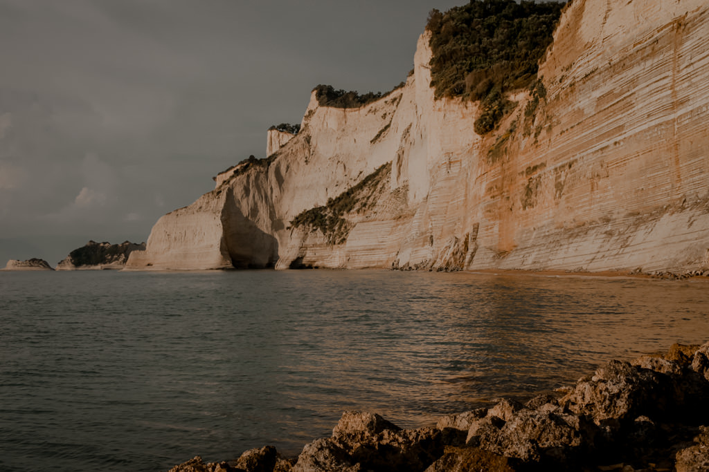 Korfu plaże - Logas Beach