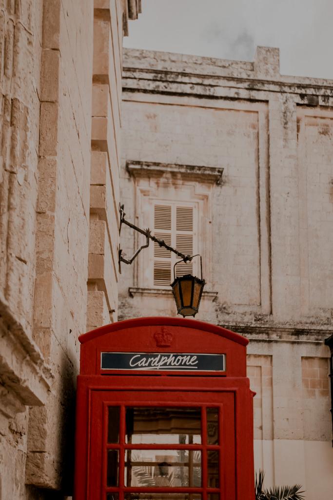 Malta budki telefoniczne