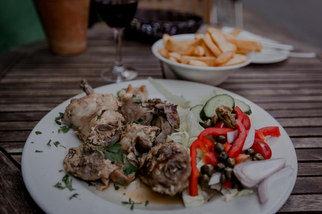 Malta - królik , tradycyjne danie