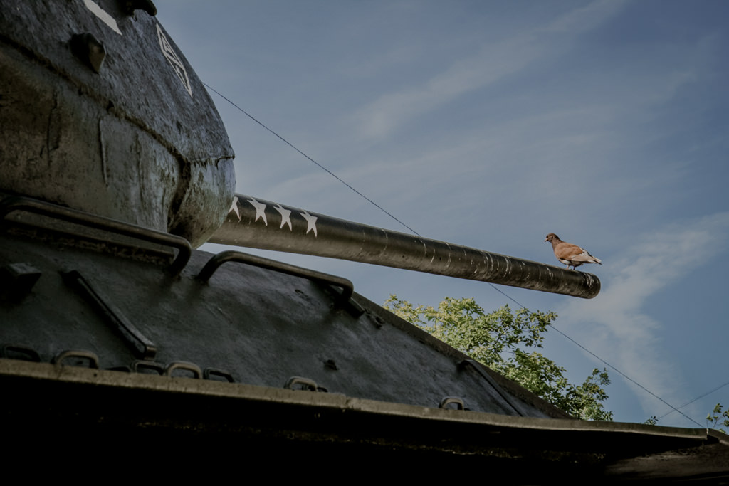 Militaria w Kaliningradzie, czołg