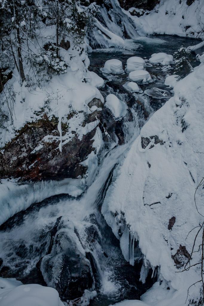 Morskie Oko trasa nad wodospad