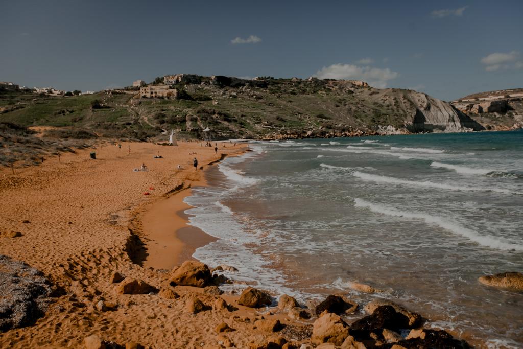 Plaża Ramla Bay na Gozo
