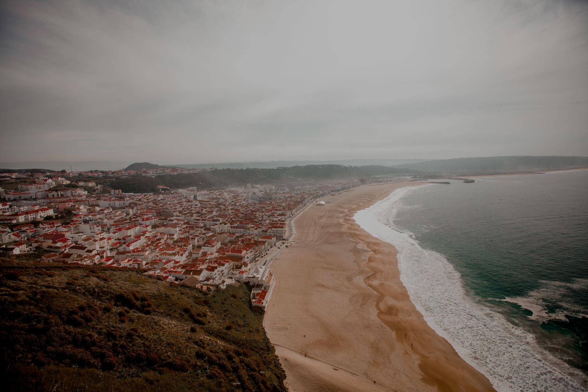 Nazare w Portugalii. Najlepsze plaże w Europie