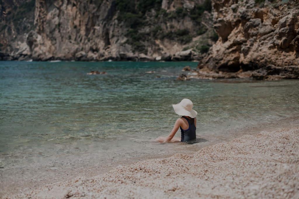 Plaże Korfu - Paleokastritsa
