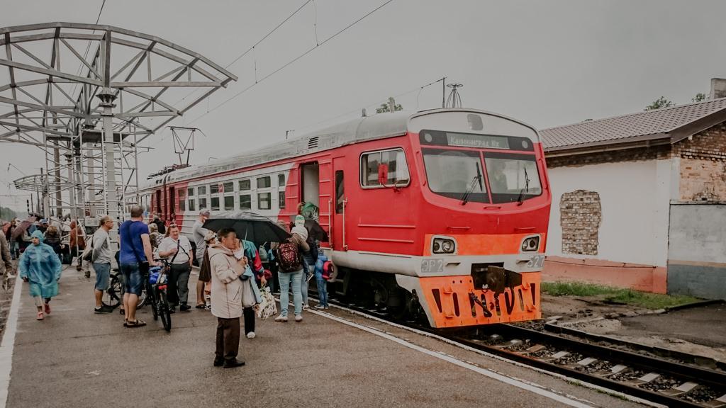 Pociągi w Kaliningradzie