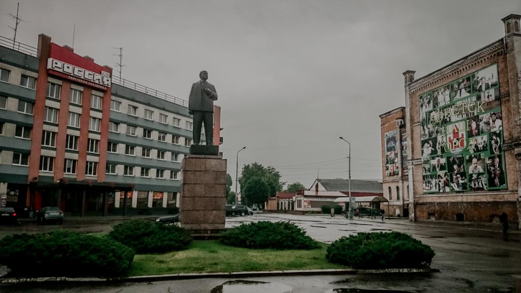 Pomnik Lenina w Sowiecku