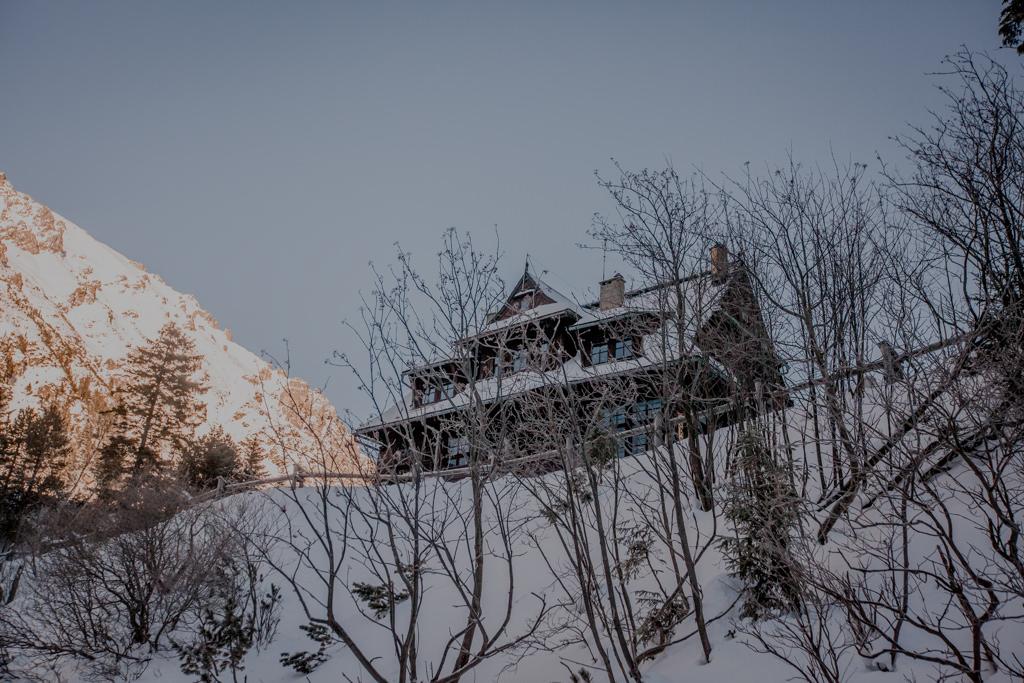 Morskie Oko schronisko zimą