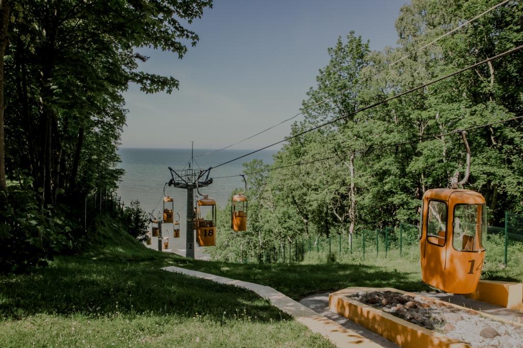 Kolejka turystyczna w Swietłogorsku