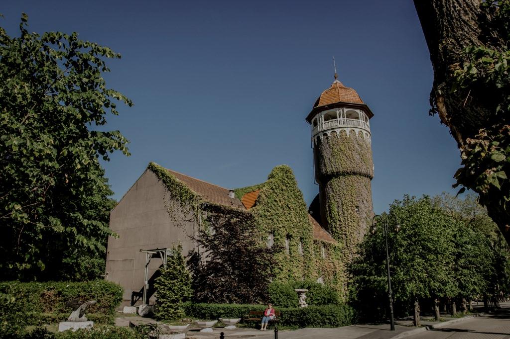 Swietłogorsk - zabytkowa latarnia, wieża