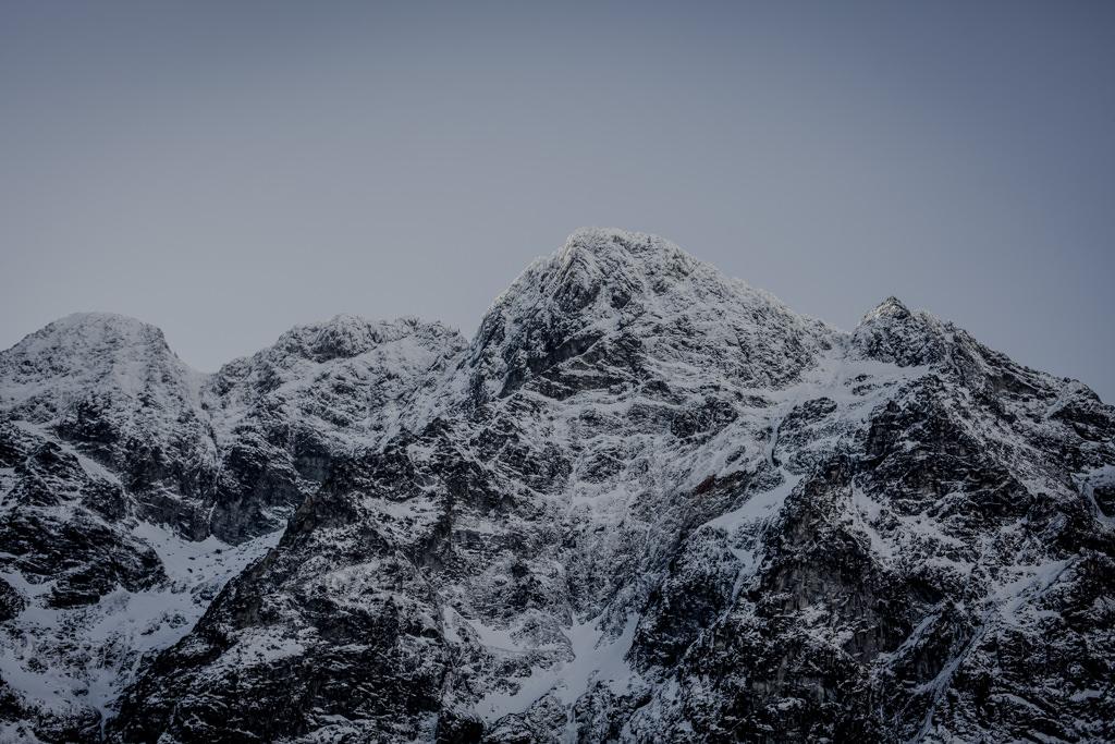 Tatry zimą Morskie Oko