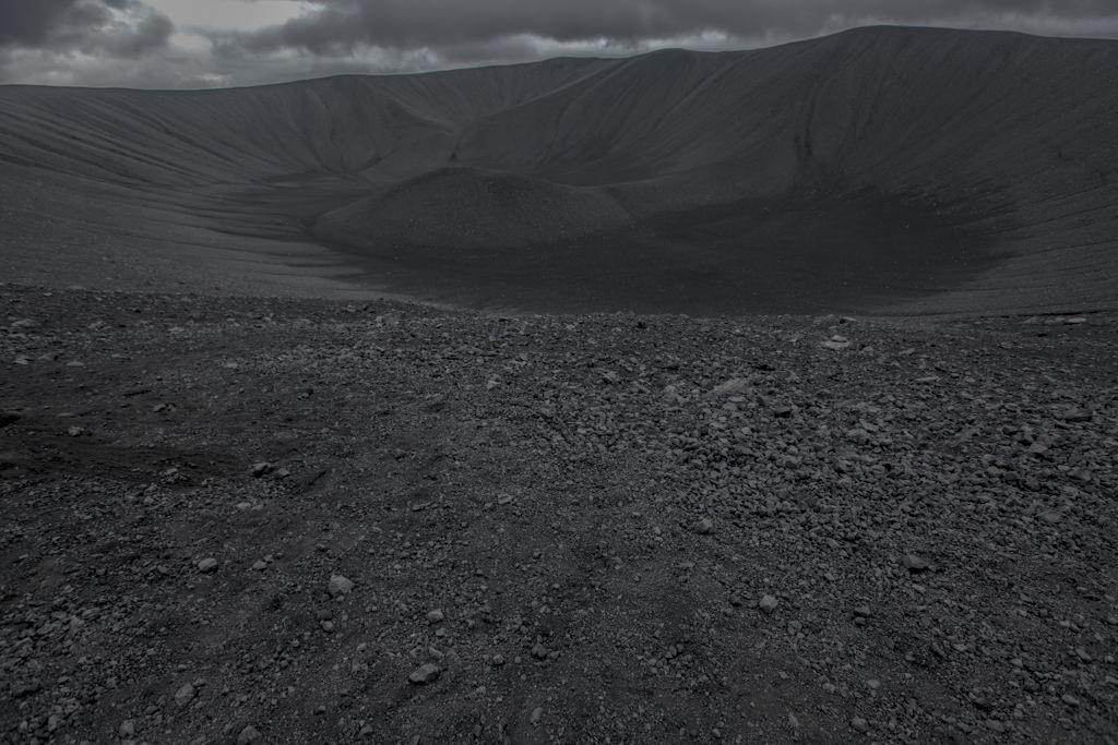 Islandia - krater wulkanu