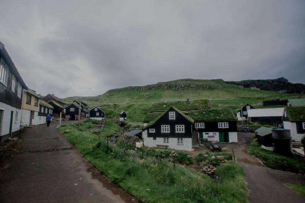 Dachy trawiaste na Wyspach Owczych, Mykines